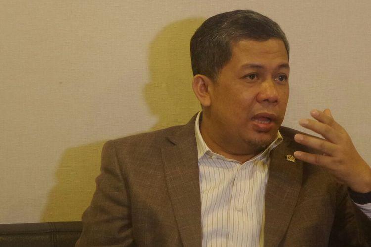 Wakil Ketua DPR RI Fahri Hamzah di Kompleks Parlemen, Senayan, Jakarta, Jumat (24/2/2017).