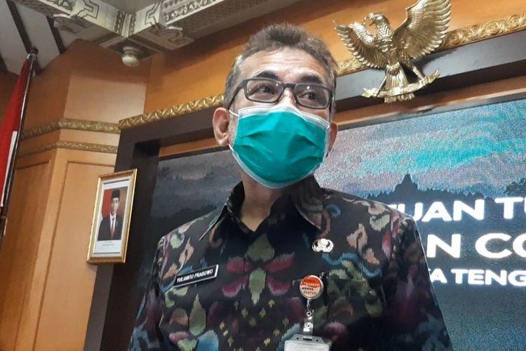 Kepala Dinas Kesehatan Jawa Tengah Yulianto Prabowo
