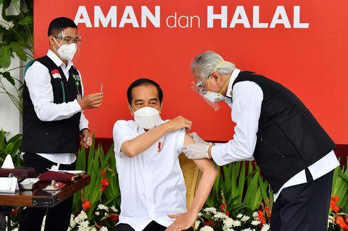 Istana Pastikan Vaksin Covid-19 yang Diterima Jokowi Produksi Sinovac