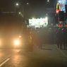 Antisipasi Pergerakan Buruh ke Jakarta, Polisi Jaga Ketat Gerbang Tol di Banten