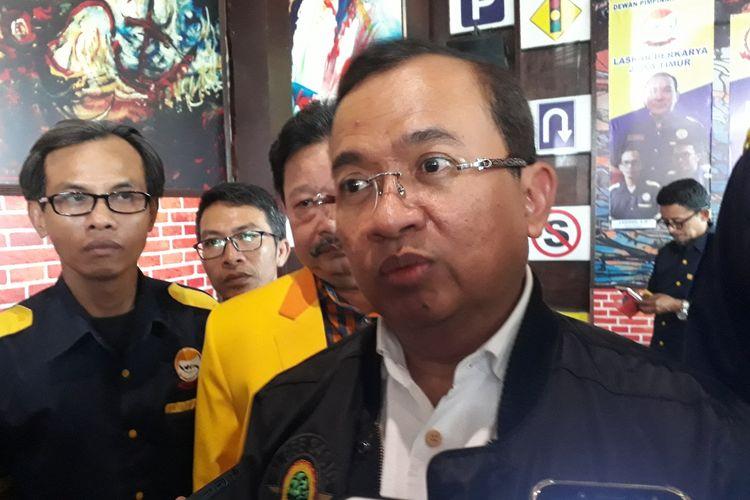 Sekjen Partai Berkarya, Priyo Budi Santoso