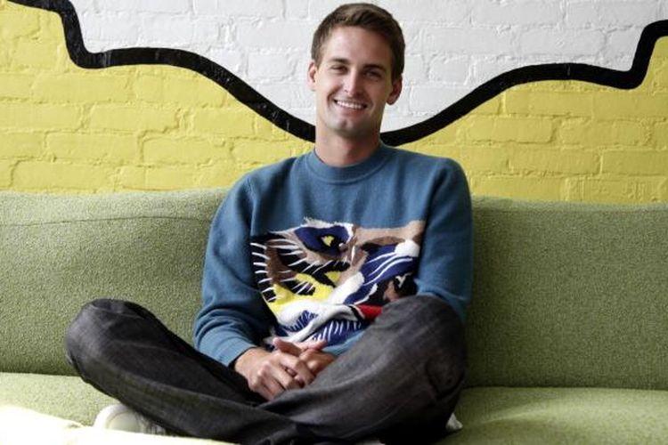 Pendiri Snapchat Evan Spiegel.