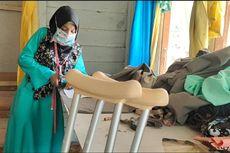 Kisah Nuri Wulandari, Gadis Disabilitas Bikin Masker Gratis untuk Warga