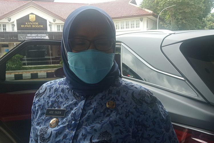 Bupati Bogor Ade Yasin di Kabupaten Bogor, Jawa Barat.