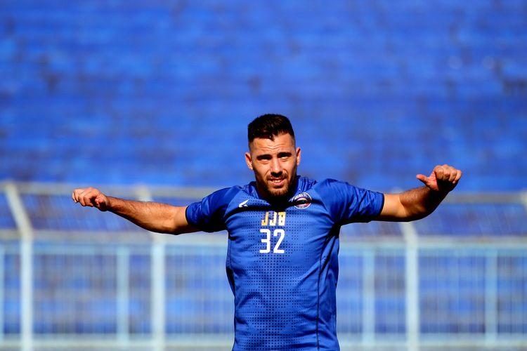 Pemain asing Arema FC untuk 2020, Jonathan Bauman.