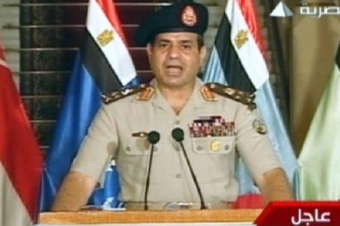 Militer Tunjuk Ketua Mahkamah Agung Gantikan Mursi