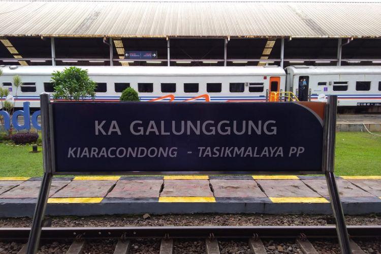 PT Kereta Api Indonesia (KAI) resmi meluncurkan kereta api (KA) Galunggung jurusan Kiaracondong-Tasikmalaya hari ini, Rabu (26/12/2018).