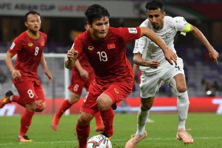 Timnas Vietnam menjaga asa lolos ke babak 16 besar Piala Asia 2019 seusai menang atas Yaman, Rabu (16/1/2019).