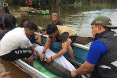 Seekor Pesut Langka Berusia 30 Tahun di Riau Dievakuasi
