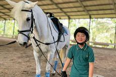 Jatuh dari Kuda, Rafathar Mengaku Tak Kapok Berlatih