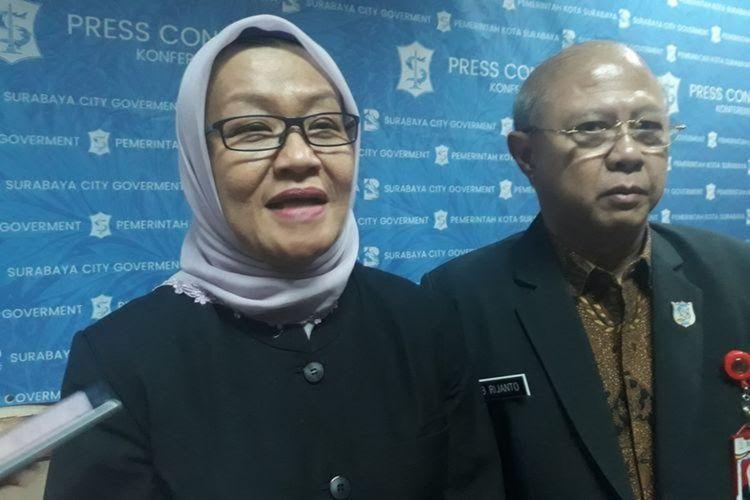 Kepala Dinas Kesehatan Kota Surabaya Febria Rachmanita
