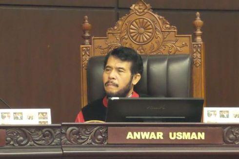 Anwar Usman Terpilih sebagai Wakil Ketua MK