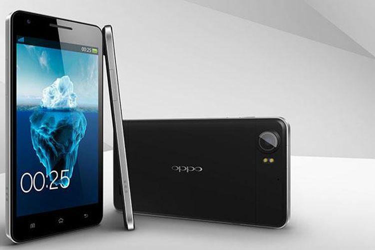 Oppo Finder, smartphone tertipis tahun 2012 yang menjadi pendahulu Oppo R5