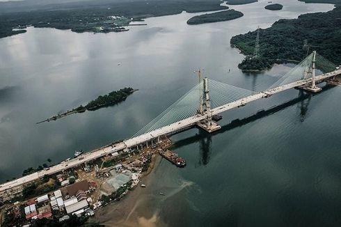 Jembatan Pulau Balang Tersambung 100 Persen, Kabupaten PPU dan Kota Balikpapan Kini Terhubung