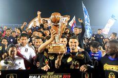 Transparansi, Teladan dari Piala Presiden untuk Sepak Bola Indonesia