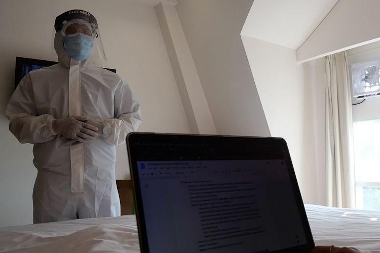 Hal yang menjadi perhatian utama adalah kondisi isolasi mandiri yang membuat nyaman bagi pasien Covid-19 juga menjadi pemahaman pengelola Rumah Sakit (RS) Medistra.