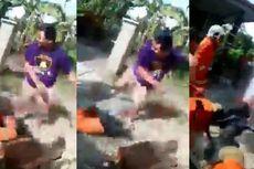 Video Viral Warga Pukuli Petugas Damkar karena Telat Datang Padamkan Api