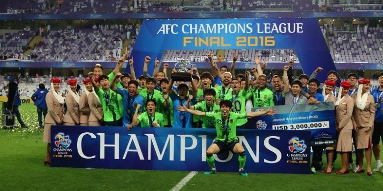 Jeonbuk Motors menjadi juara Liga Champions Asia 2016 setelah mengalahkan Al-Ain pada partai final, di Stadion Hazza bin Zayed, 26 November 2016.