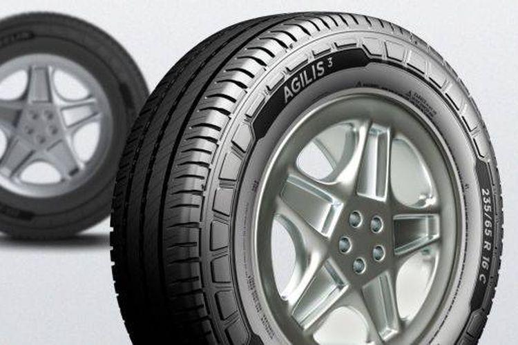 Michelin Agilis 3 ban baru untuk kendaraan komersial seperti truk ringan.
