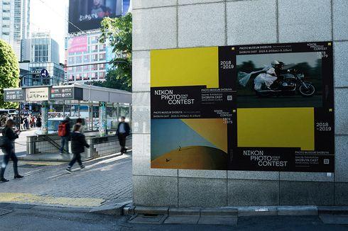 Nikon Ubah Jalanan Shibuya Tokyo Jadi Galeri Foto