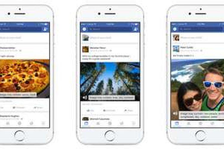 Facebook mengembangkan kecerdasan buatan yang mampu mengenali objek di dalam foto dan membacakan deskripnya ke pengguna tunanetra