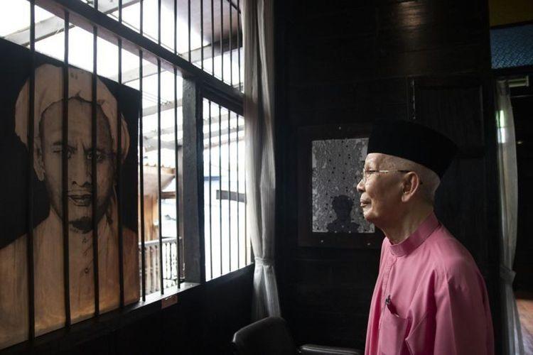 Den Tomina (86) salah satu anak Haji Sulong.