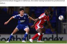 Debut Elkan Baggott bagi Ipswich Town, Dapat Rating Mentereng