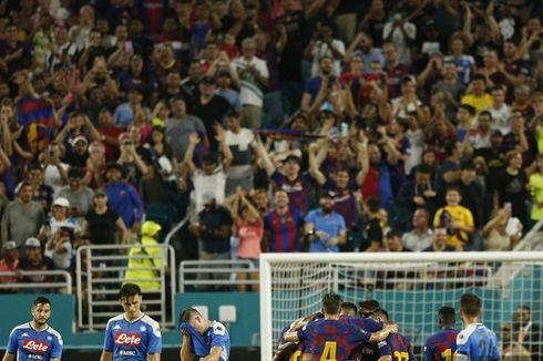 Barcelona Vs Napoli, Barca Menang Tanpa Lionel Messi