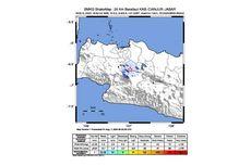 Analisis BMKG soal Gempa Magnitudo 3,5 yang Guncang Kabupaten Bogor Malam Ini
