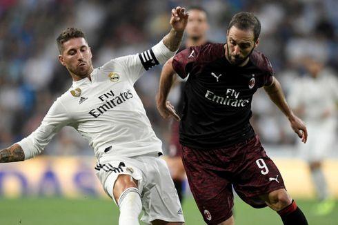 Real Madrid Vs Atletico, Arti Raih Piala Super Eropa bagi Sergio Ramos