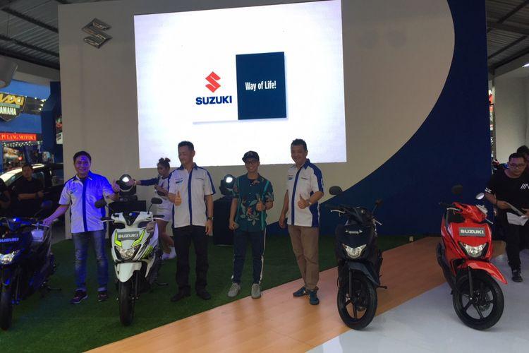 Peluncuran Suzuki Nex II di Jakarta Fair Kemayoran 2018