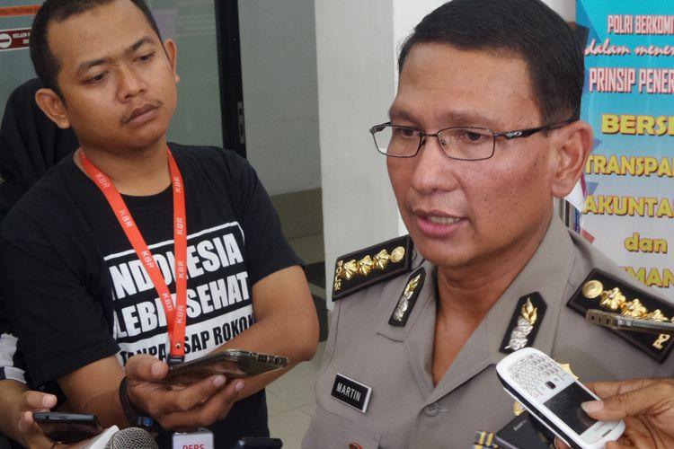 Kepala Bagian Penerangan Umum Divisi Humas Polri Kombes Pol Martinus Sitompul.