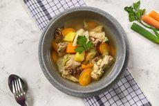 Resep Sop Ayam Aroma Jahe, Sajian Berkuah Hangat Pakai Empon-empon