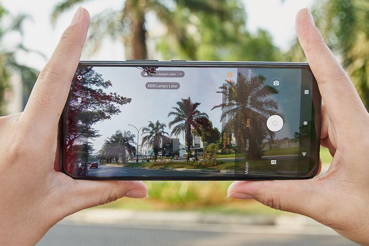 Fitur kamera video di Vivo V20 SE.