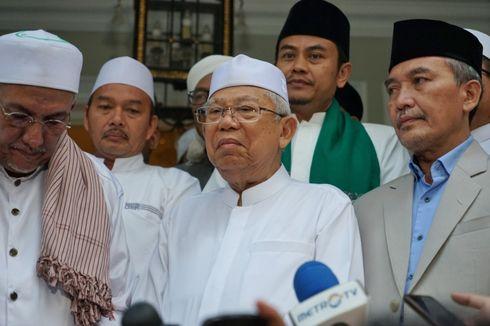 Kunjungi Yogyakarta, Ma'ruf Amin Akan Temui Sri Sultan HB X