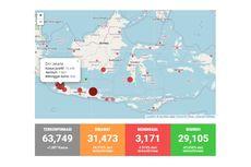 Covid-19 di Indonesia Sepekan: Bertambah 9.739 Kasus | Tak Ada Provinsi Tanpa Kasus Baru