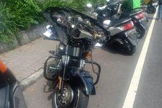Siswa SD di Bali Ditabrak Harley Davidson hingga Patah Kaki