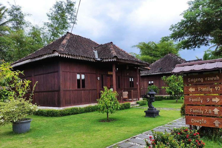 Balai Ekonomi Desa (Balkondes) Karangrejo, Kecamatan Borobudur, Magelang, Jawa Tengah