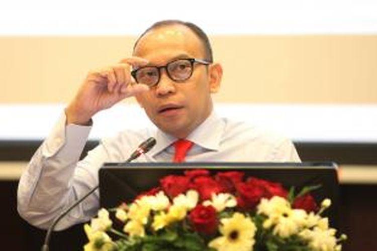 Menteri Keuangan M Chatib Basri