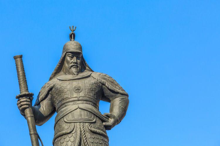 Laksamana Yi Sun-shin dari Dinasti Joseon Korea.