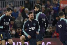 Kontrak Lionel Messi di Barcelona Segera Berakhir, Gerard Pique Angkat Bicara