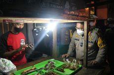 Aksi Polisi Borong Dagangan Warga Saat Patroli PPKM, Ada yang Dibeli hingga Rp 1,3 Juta
