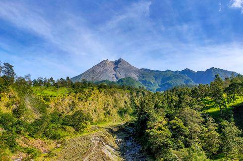 Wisata Kali Talang di Klaten yang Instagramable Berlatar Gunung Merapi