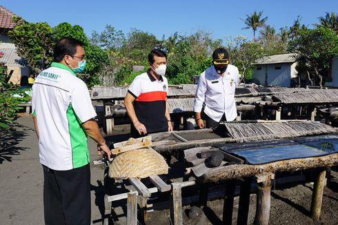 Mampu Produksi Garam Organik Beryodium, Daya Saing Petani Garam Desa Kusamba Meningkat