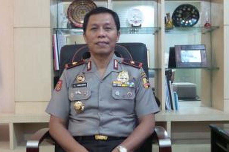 Direktur Tindak Pidana Ekonomi Khusus Badan Reserse Kriminal Polri Brigadir Jenderal (Pol) Victor Edi Simanjuntak.