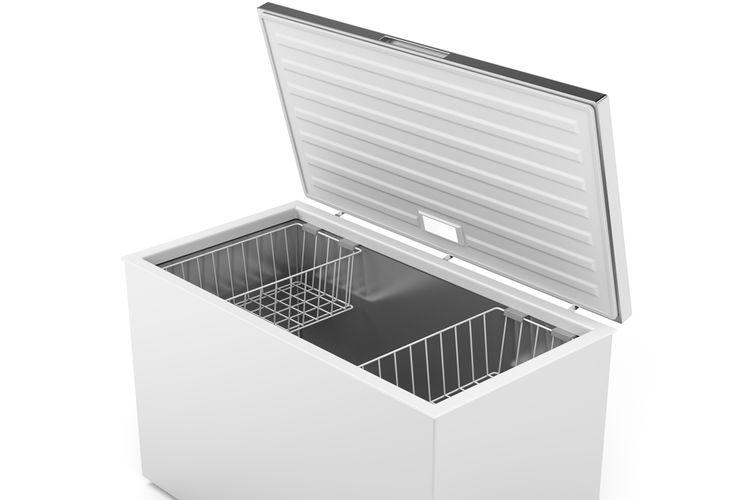 Ilustrasi chest freezer.