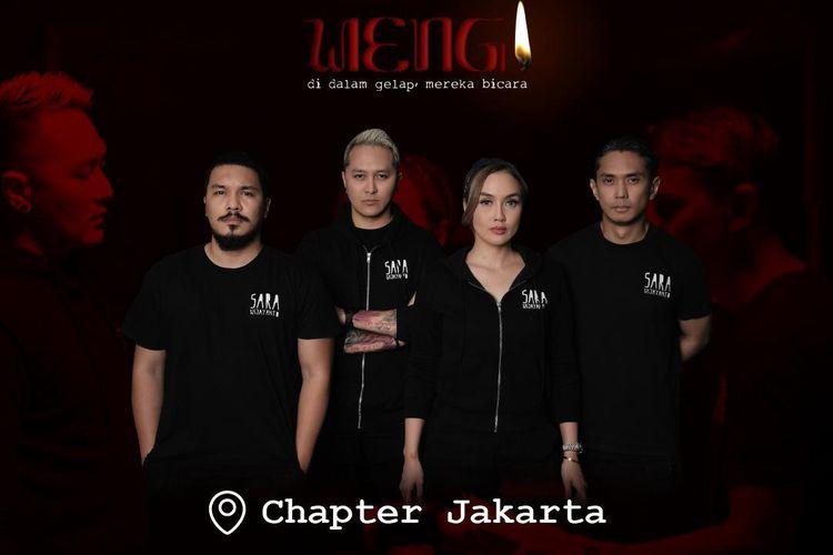 Elex Media Komputindo bekerja sama dengan Rekata studio dan Panorama Live menjadikan novel berjudul Wingit, karya Sara Wijayanto dan tim Diary Misteri Sara menjadi sebuah event wahana misteri' bernama Wengi.