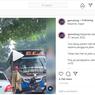 Viral Video Pengguna Motor Menghadang Bus yang Ugal-ugalan di Jalan