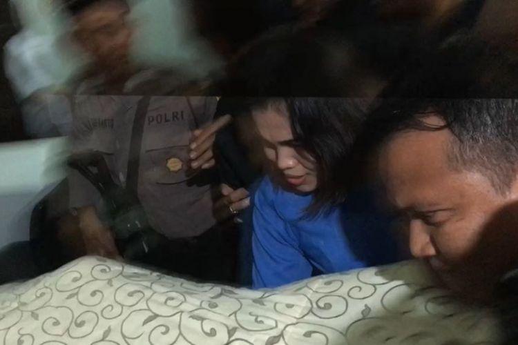 Setya Novanto tiba di RSCM, Jakarta Pusat, Jumat (17/11/2017).