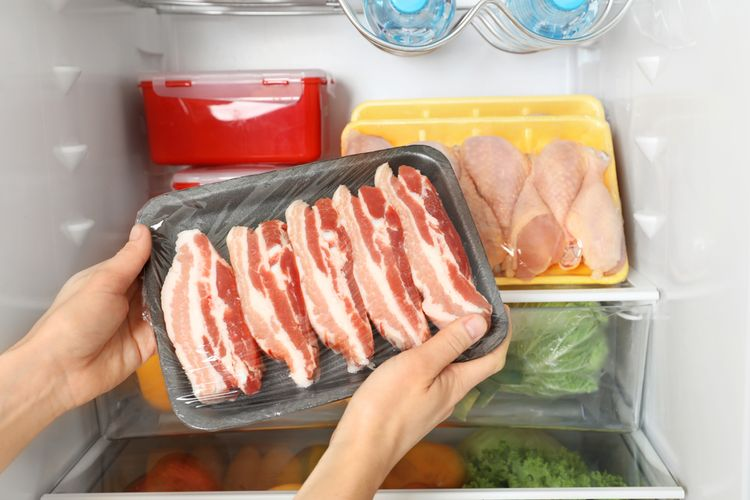 Ilustrasi daging bacon